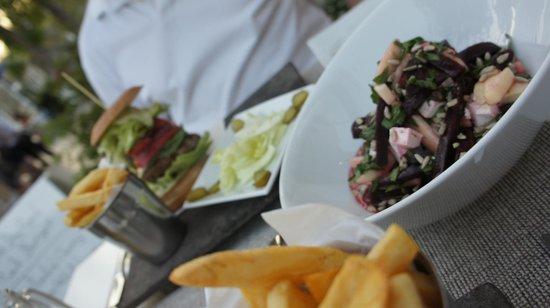 White Table: Beetroot & Feta Salad