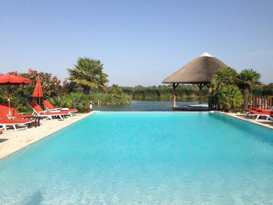 L'Estelle en Camargue : Dès l'entrée dans l'hôtel