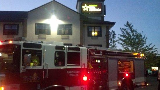 Extended Stay America - Portland - Beaverton - Eider Court: Fire Alarm