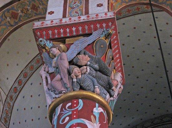 Issoire, France: Abbatiale Saint-Austremoine, chapiteau