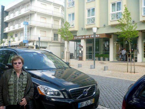 Hotel Estrela de Fatima : Fachada do Hotel