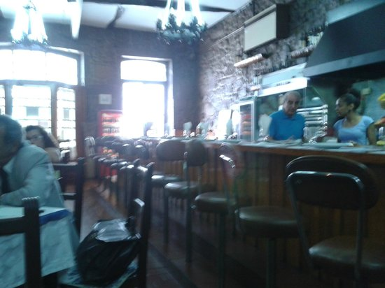 Restaurante A Ceia: La barra