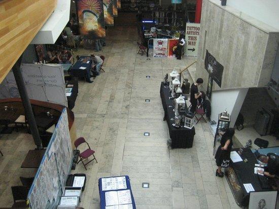 Millennium Forum : From above