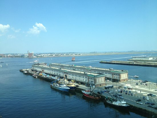 Seaport Boston Hotel: Bay View -- Looking South -- Daytime