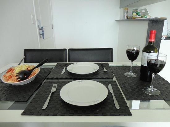 Sol y Luna Home & Spa : Mesa de jantar