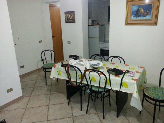Affittacamere da Angela: salle à manger