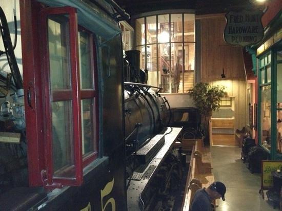 Huron County Museum: neat train