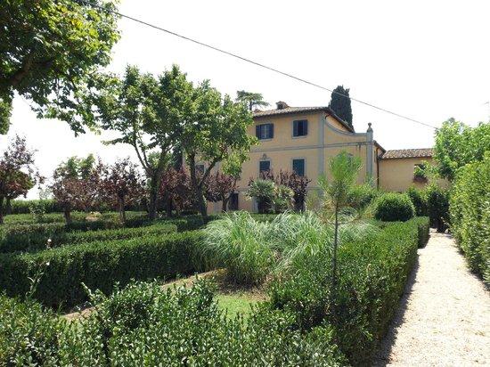 Tenuta di Argiano: from a distance