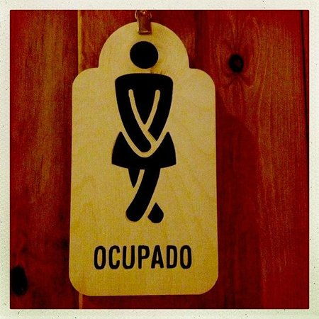 Restaurante Parrilla Alfonsina: toilets