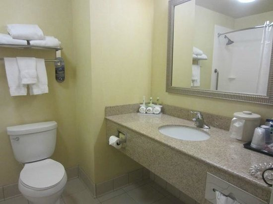 Holiday Inn Express Hotel & Suites Merced: Room 130 - Bathroom