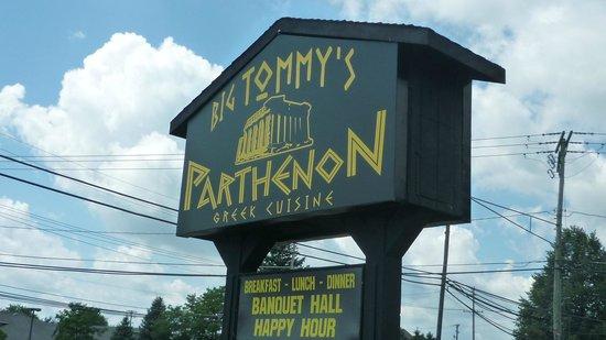 Big Tommy's Parthenon: Big Tommies Parthenon Restaurant