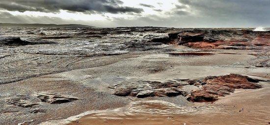 West Kirby Beach: Hilbre Island