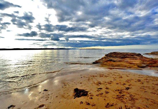 West Kirby Beach: Beach at Red Rocks