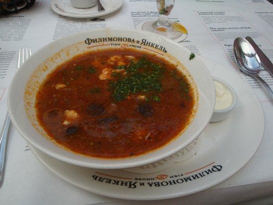 Filimonova and Yankel Fish-House : Delicious Fish Soup