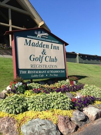 Madden's on Gull Lake: this is where we stayed!