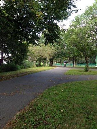 Charles River Bike Path: Weekend afternoon