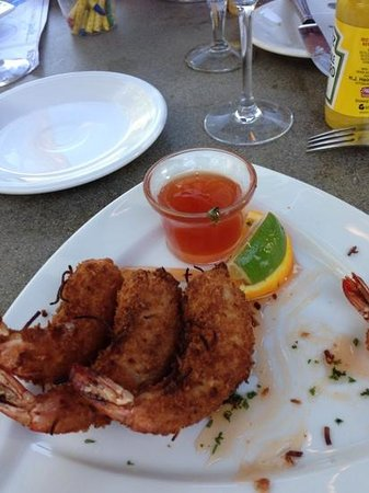 Madden's on Gull Lake: coconut shrimp at the clasic!! yum