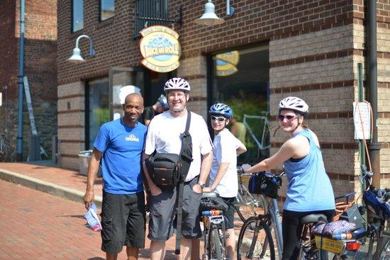 Bike and Roll Alexandria: Helpful!