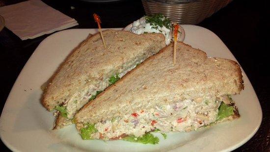 Gurley St. Grill: Cashew chicken sandwich