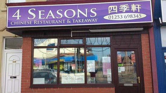 Four Seasons: Address: 240 Whitegate Dr, Blackpool FY3 9JW Phone:01253 698345
