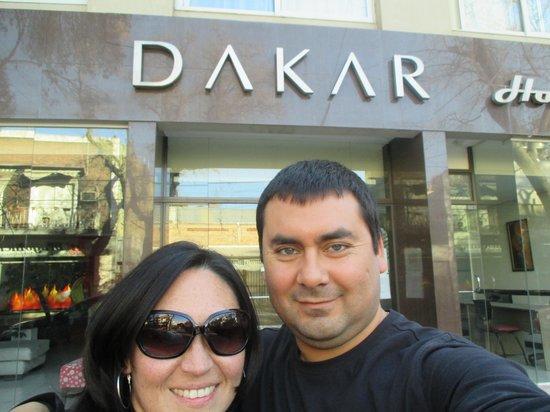 Dakar Hotel & Spa: Vinsja y Jose Manuel