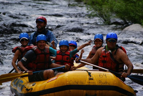 A-1 Wildwater Rafting: We survived!