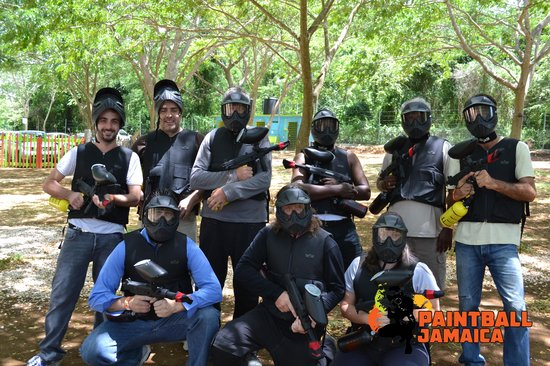‪Paintball Jamaica‬