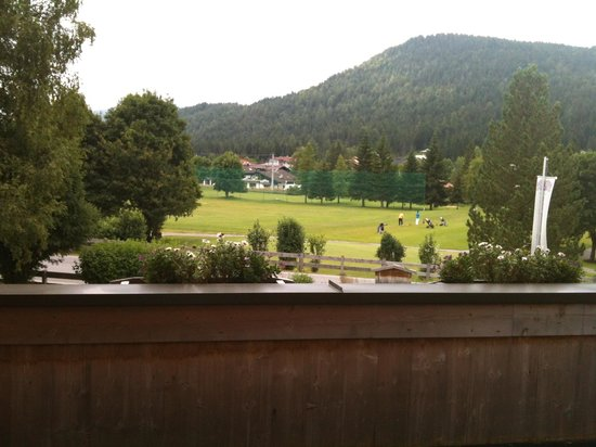 Hotel Princess Bergfrieden: View from the balkony