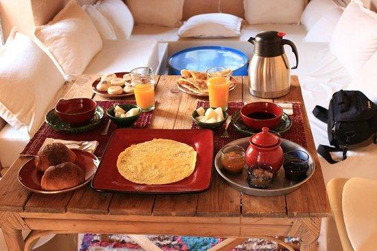 Kasbah Ait Moussa: La colazione