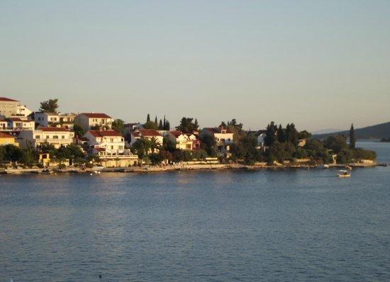 Villa Mediterana: vista dal nostro balcone