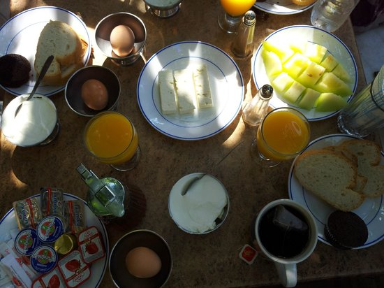 Sofia Pension : Kahvaltı