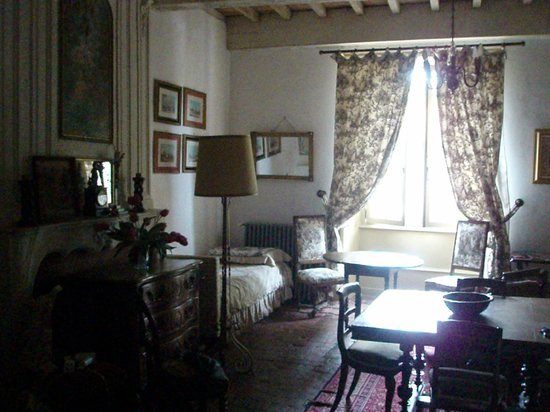 Chateau de Durianne : Part of our room