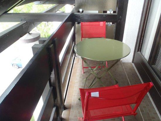 Logis Hôtel Restaurant Annecy Nord / Argonay: Balcony
