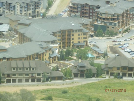 Sundial Lodge at Canyons Village: View of the Canyons Resort from the Gondola