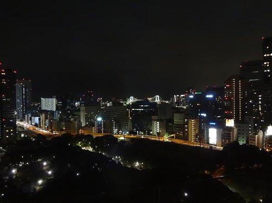 お部屋から見た夜景