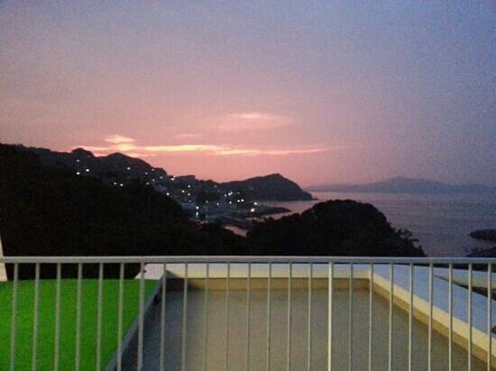 Hotel Ijikaso : ウッドデッキからの景色