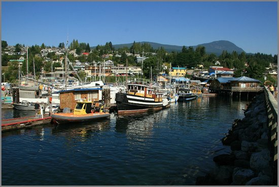 Molly's Reach Restaurant: walk around Gibsons Harbour