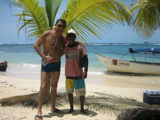 Yandup Island Lodge: Luis, nuestro guía KUNA