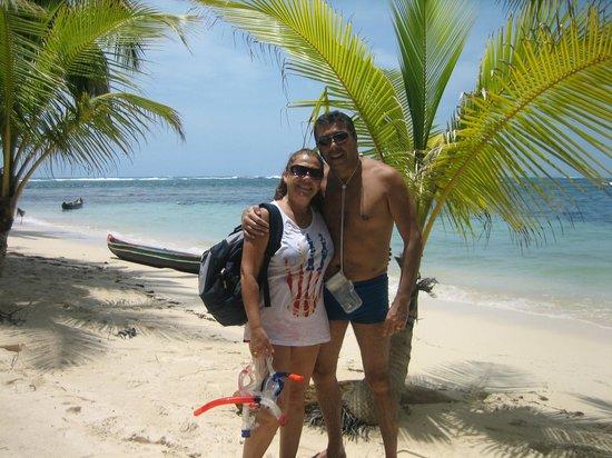 Yandup Island Lodge: Isla Iguana (excursión desde Yandup)