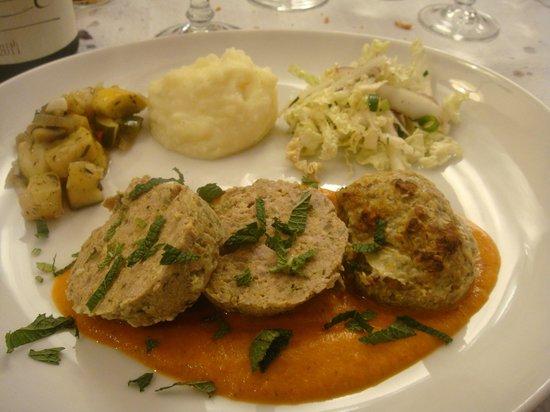 La Feuille de Chou : succulent pain de viande au mille épices