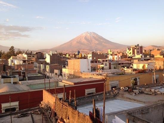 La Posada del Kuraka : Aussicht der Terrasse
