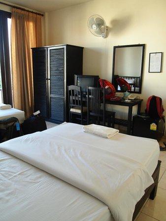 Vong Kham Sene Hotel: Наш номер