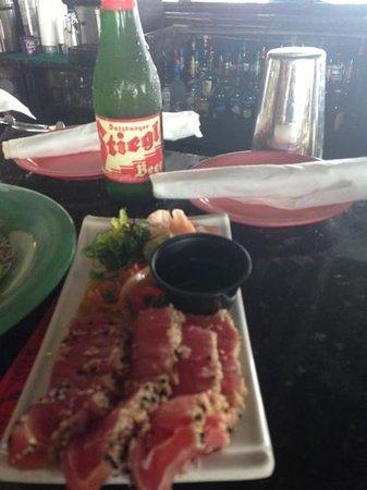 Cabana Breezes: Stieglitz and Tuna Tutaki yummy!