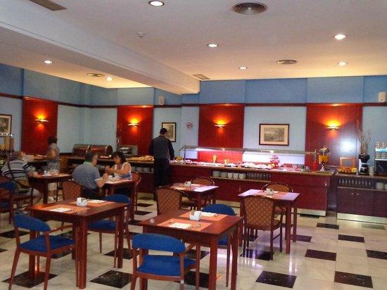 Breakfast buffet picture of monte triana hotel seville - Hotel monte triana seville ...