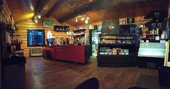Black Bear Coffee House: bbch inside