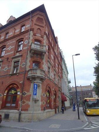 picture of red brick apartments krakow tripadvisor