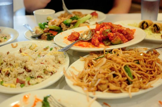 New Woey Loy Goey : Family style meal - good value and good food