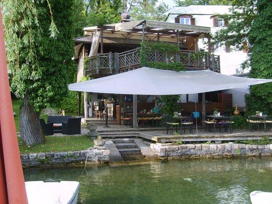 Hotel Schloß Leonstain: Beachclub