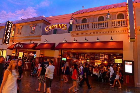 Carmine S Italian Restaurant Las Vegas Entrance