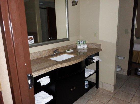 Holiday Inn Express Crystal River: Our Bathroom Room 422